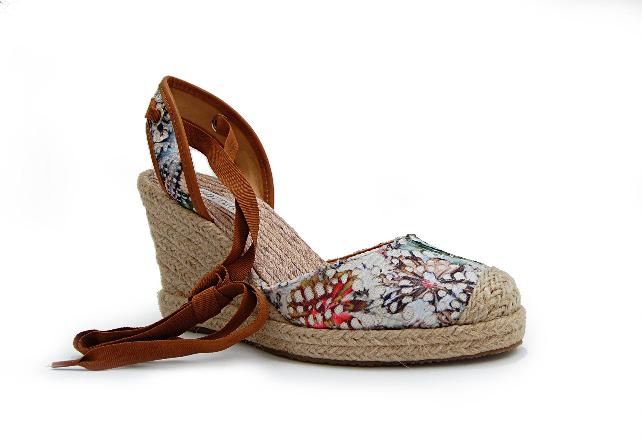 sandália bottero espadrille 245102