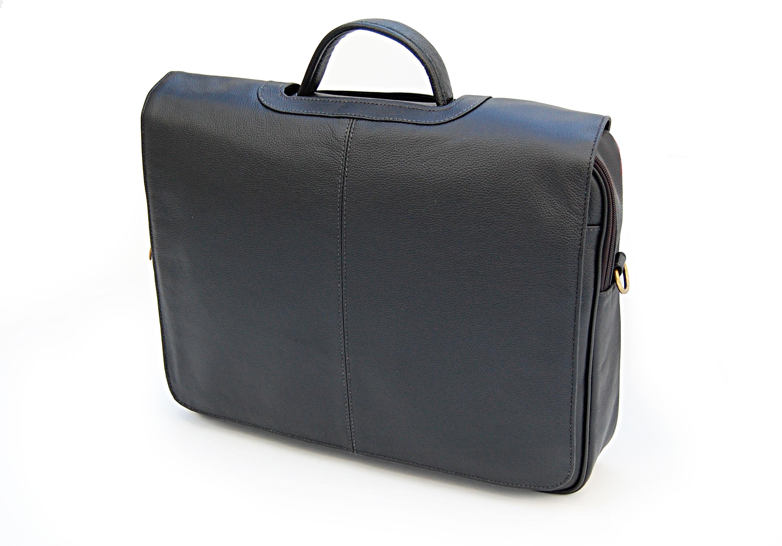 pasta executiva notebook couro legítimo - bolsa maleta 5008